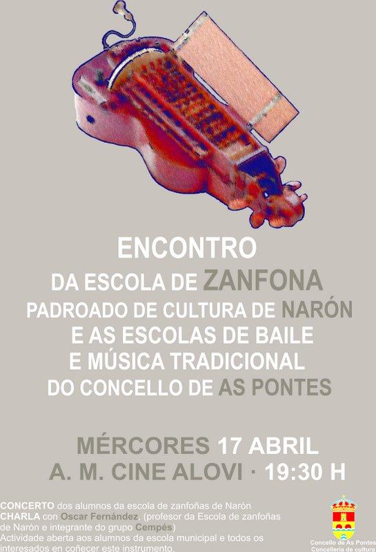 cartel zanfona imagen