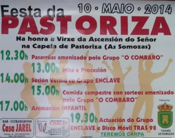 Cartaz Pastoriza 2014