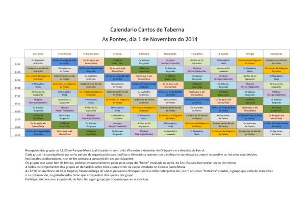 Calendario de turnos