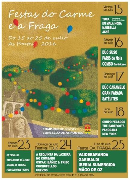 CARTEL FESTAS DO CARME