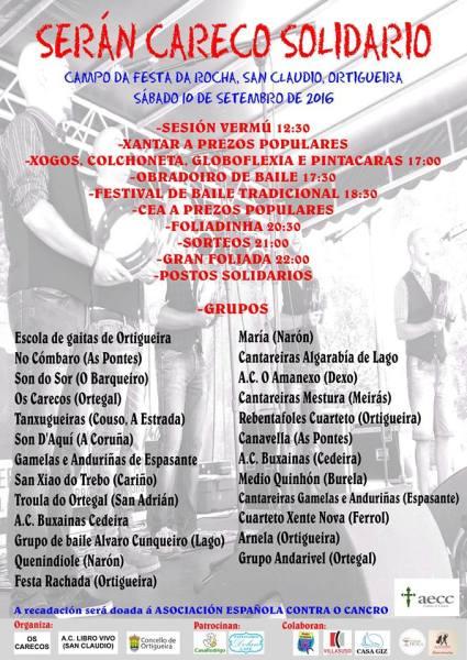 Foliada Solidaria Ortigueira 2016